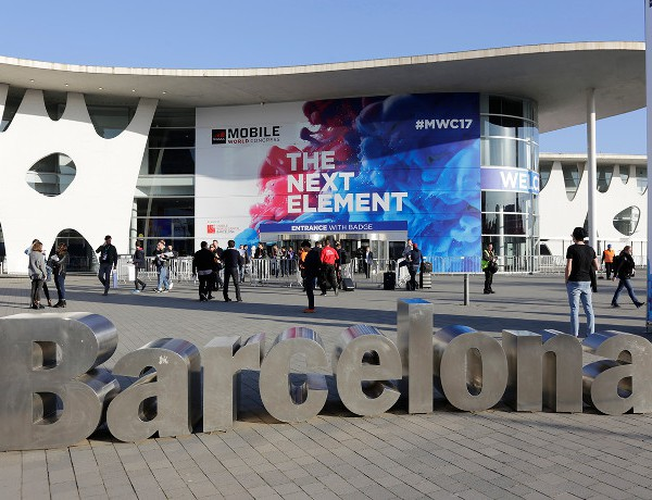 Mobile World Congress outside