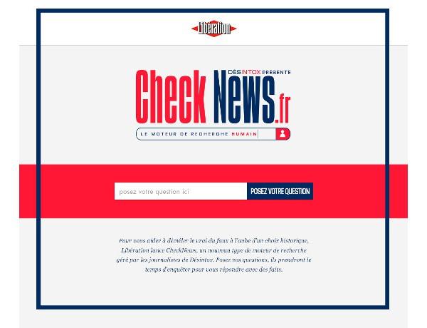Check News Website